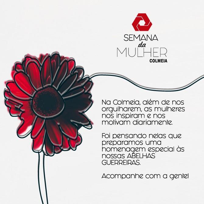 Abelhas Guerreiras Colmeia. Homenagem Colmeia ao dia das mulheres.