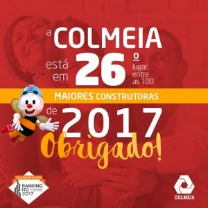 Estamos entre as 100 Maiores Construtoras do Brasil